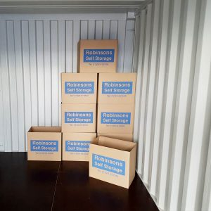 Robinsons Self Storage Boxes