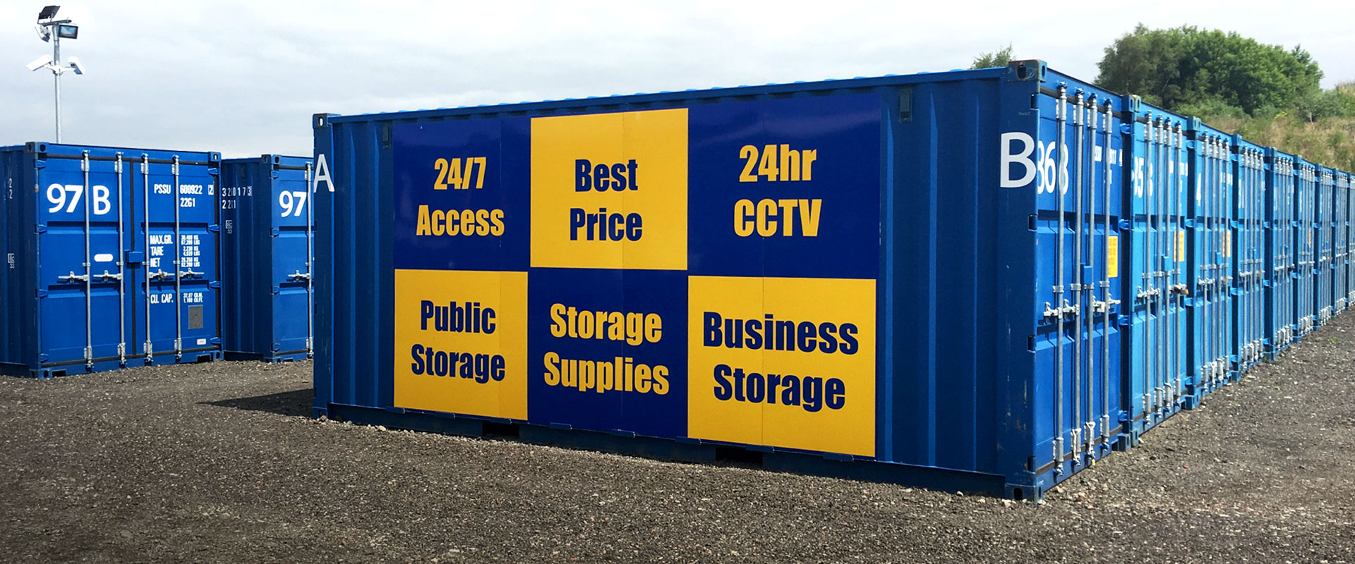 Robinsons Self Storage Container Sign