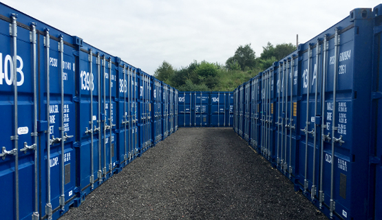 Robinsons Self Storage Containers